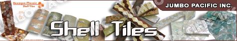Philippine shell tiles for interior design