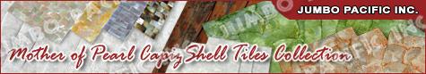 Hotel walling shell panels capiz mother of pearl tiles
