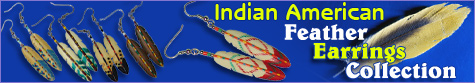 Philippine jewelry earrings in feather design