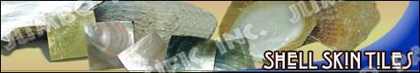 Skinned shell tiles