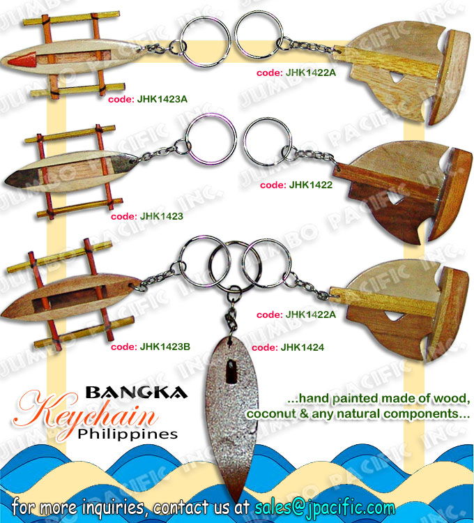 Handmade Keychain Wholesale Philippines keychain manufacturer and wholesale for export quality handmade keychain made of natural material or components which is the design theme by Philippine popular symbols.