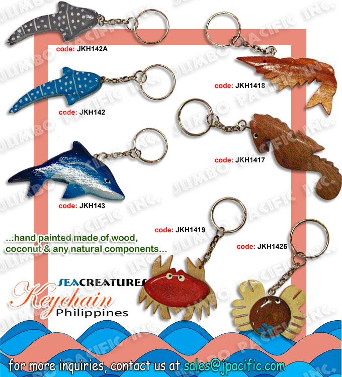 Handmade Wood Keychain Philippines keychain manufacturer and wholesale for export quality handmade keychain made of natural material or components which is the design theme by Philippine popular symbols.