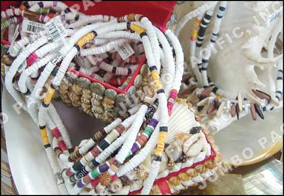 heishi shell beads