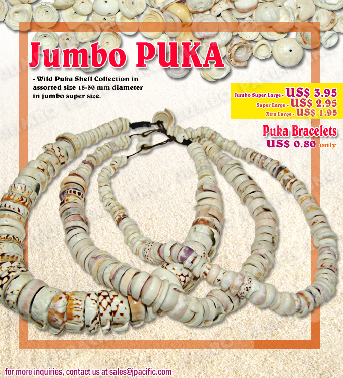 Jumbo Puka Shell Necklaces