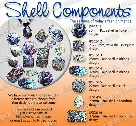 shell components pendant