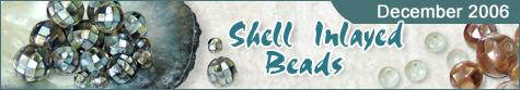 Shell Inlayed Beads